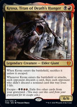 Kroxa, Titan of Death's Hunger