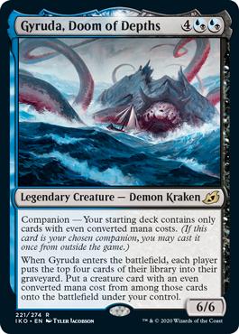Gyruda, Doom of the Depths